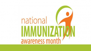 Cooking Demo & <br> Immunization Awareness