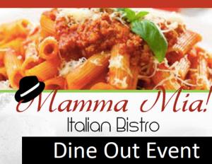 Mamma Mia Dine Out Event